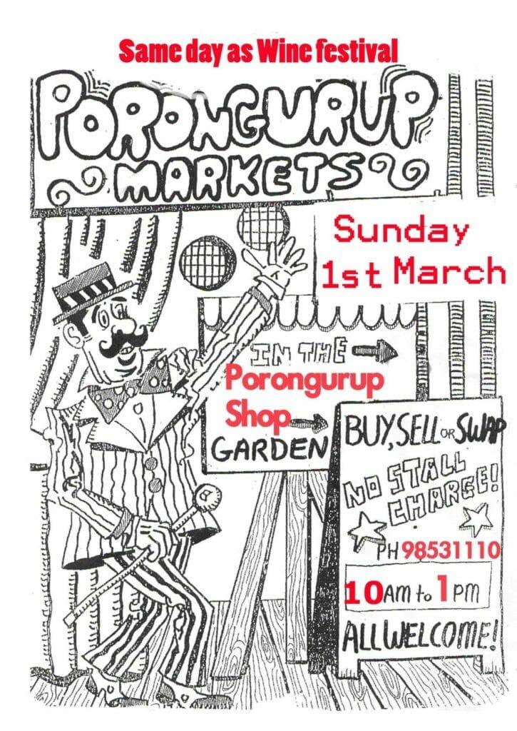 Porongurup Markets - 1st March 2020